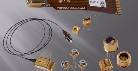 DBR laser modules